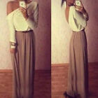 1PC Womens Fashion Elegant Maxi Dress Cocktail Ball Gown Exposed Dress Trendy