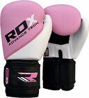 Auth RDX Maya Hide Leather kids Boxing Gloves Junior Bag Children Youth P 8,10oz