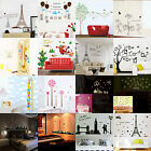 Living Room Kitchen DIY Removable Vinyl Wall Stickers Decal Mural Home Kid Decor