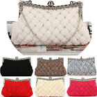 Femme Sac A Main Fashion Ladies Knitted Bag/Rhinestone Shoulder Handbag/Purse MW