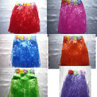 Grass Skirt Hawaiian Fancy Dress Tropical Party Cloose 9 Colour