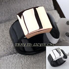 B1-R487 Fashion No Stone Resin Band Ring 18KGP