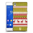 HEAD CASE DESIGNS KNITTED CHRISTMAS CASE COVER FOR SONY XPERIA Z3