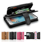 ALL IN ONE Magnet Premium Leather Wallet Case Cover Pouch for Apple iPhone 6s 6