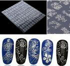 Lots 3D Gold Decal Stickers Nail Art Tip DIY Decoration Stamping Manicure  HOCA