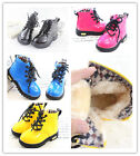 Toddler Shoes baby kids PU leather Waterproof lace up martin Boots BO300-302