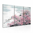 CHINESE ART Spring Landscape Painting Canvas Framed Print ~ 3 Panels