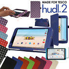 Slim Foldable Leather Flip Case Cover & Stand for Tesco Hudl 2 (8.3 inch)