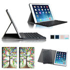 For 2014 iPad Air 2 Ultra Slim Leather Case Cover Detachable Bluetooth Keyboard