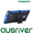 New Premium Heavy Armor Stand Dual Case Cover for Samsung Galaxy Note 4 N9100