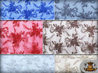 """Mesh Lace Embroidery Floral Fabric Jasmine / 52"""" Wide / Sold by the yard"""