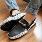 Actual Nice Men Leather Casual Slip On Loafer Shoes Moccasins Driving Shoes MWUK