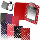 LEATHER CASE COVER WALLET WITH LIGHT For AMAZON KINDLE 4 / 4th & TOUCH 7 (2014)