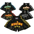 S&S  MUAY THAI FIGHT SHORTS KICK BOXING TRUNKS MARTIAL ARTS FIGHT