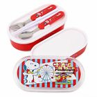2014 NEW SNOOPY DOUBLE BENTO BOX LUNCH BOX SPOON FORK & CHOPSTICKS 2865