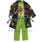 Teenage Mutant Ninja Turtles PAJAMAS 4 5 6 7 8 10 12 PJS 3 Piece Robe Set TMNT