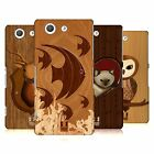 HEAD CASE DESIGNS WOOD CRAFT CASE COVER FOR SONY XPERIA Z3 COMPACT D5833