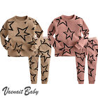 "NWT Vaenait Baby Infant Toddler Kid Clothes Sleepwear Pyjama Set ""Twinkle"""