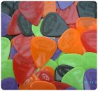 12 x NYLON GRIP GUITAR PICKS  plectrums CHOOSE from 6 gauges acoustic electric