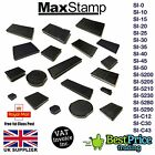 Maxstamp Replacement Ink Rubber Stamp Pad Self Inking BLACK Maxum Max Stamp NEW