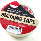 PROFESSIONAL EASY TEAR MASKING TAPE 38mm x  50m DIY / DECORATING / PAINTING