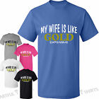 My Wife is Like Gold Expensive Mens Funny T-Shirt Gifts Best Husband New tshirts