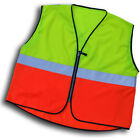 Respro Hi-Viz Reflective Safety Basic Bib Vest Waistcoat Bike Cycle Cycling