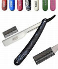 NEW BARBER SALON SHAVING + STYLING THINNING SHAPING TRIMMING RAZOR & BLADES