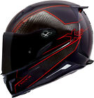 NEXX XR2 CARBON PURE RED LIGHT WEIGHT MOTORCYCLE MOTORBIKE BIKE HELMET
