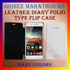 ACM-LEATHER DIARY FOLIO FLIP FLAP CASE for GIONEE MARATHON M3 MOBILE FULL COVER
