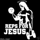 REPS FOR JESUS VEST tank top weight lifting gym fitness muscle racer training
