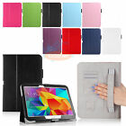 Hand Strap PU Leather Stand Case For Samsung Galaxy Tab 4 10.1 10 SM-T530NU T537