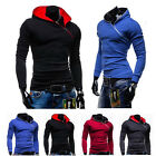 SALE~ Mens Pullover Hooded Fashion Winter Sweats College Coat Jacket Outwear