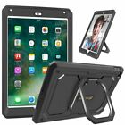 For 2014 Apple iPad Air 2 Rugged Hybrid Shockproof Full Protective Case Cover