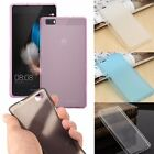 Thin Slim Matte/Clear Soft TPU Gel Silicone Case Cover For Huawei Ascend P8 Lite