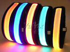 Flashing LED Light Nylon Armband LED Lights Reflectors Sport Jogging Cycling NEW