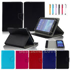 Universal PU Leather Folio Flip Case Cover For 9 9.7 10 10.1 Inch Tablets PC