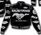 Mustang Multi-Logo Jacket in Blue or Black - Mach 1 BOSS Ford Oval Cobra R, SVT!