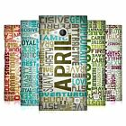 HEAD CASE DESIGNS BIRTH MONTH PERSONALITIES CASE FOR NOKIA LUMIA 735