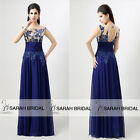 Sequined Floral Long Bridesmaid Dresses Prom Evening Gowns Wedding Party Amazing
