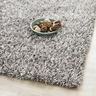 Safavieh Hand-Tufted Silken GREY Shag Area Rugs - SG531-8080