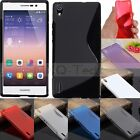 S Line Soft TPU Gel Silicone Case Cover For Huawei Ascend Y550/530/330/300/Mate7
