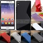 ※S※ Line Soft TPU Gel Silicone Case Cover For Huawei Ascend Y550/530/Mate7/P7/G7