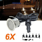 6X12v waterproof LED Courtesy Step Garden Boat exterior Lights RGB/Cool White