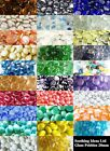100 (approx 450g) Coloured 20mm Glass Pebbles 24 Colours  Wedding Home Crafts