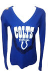 Indianapolis Colts Football Ladies Long Sleeve Thermal Royal $14.99 USD on eBay