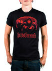 Hatebreed Die Hard Black 100% Cotton Graphic Tee with Red Graphic of Band