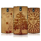 HEAD CASE DESIGNS WOOD ART CASE COVER FOR ONEPLUS ONE