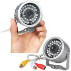 Mini CCTV Color Video Camera CMOS Lens 30 LED Night Vision Security Spy Cam UK