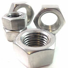 A4 MARINE GRADE STAINLESS METRIC HEXAGONAL STAINLESS STEEL FULL NUTS DIN934
